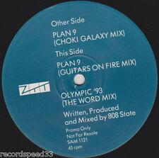 "12"" 808 STATE - Plan 9 - Olympic ´93 - ZTT"