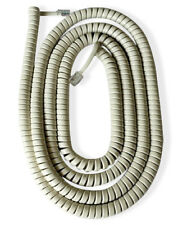 American Style Telephone Curly Cord (Extra Long) Available in Black or White