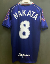 vintage soccer t shirts 1998 Japan National Home Jersey Nakata