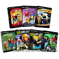 Jonny Johnny Quest Complete 1960s, 1980s & 1990s TV Series + Movies Box/DVD Sets