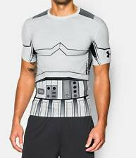 NWT MENS UNDER ARMOUR STAR WARS STORMTROOPER COMPRESSION LAST JEDI SHIRT LARGE