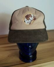Vintage Winchester Gun Dog Corduroy Hunting Hat Cap Large Insulated