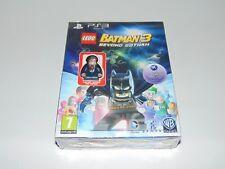 Lego Batman 3: Beyond Gotham + Clark Kent Minifigur Sony Playstation 3 ps3 NEU