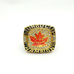 Ring Of Canada 21 World Cup Championship Gagne 2004 ring