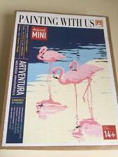 PAINT BY NUMBERS KIT FLAMINGOS