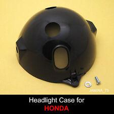 Honda XL100 XL125 XL175 CT125 Headlight Black Case Bucket + Screw + Washer