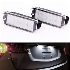 ECLAIRAGE PLAQUE LED RENAULT LAGUNA 2 3 MEGANE 2 BERLINE LAGUNA 3 COUPE BLANC