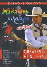 Karaoke Jukebox : Greatest Hits vol. 24 (DVD)