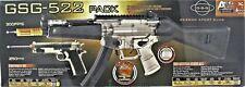 Electric Airsoft GSG 522 AEG Gun Rifle & Firepower 1911 Air Soft Gun Pistol Pack
