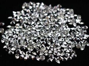 2880 Clear Acrylic Silver Point back Rhinestones Craft Confetti Wedding Scatter