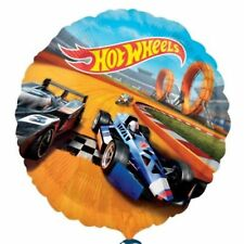 """18""""  FOIL BALLOON BIRTHDAY PARTY HOT WHEELS RACING BIRTHDAY PARTY - wholesale"""
