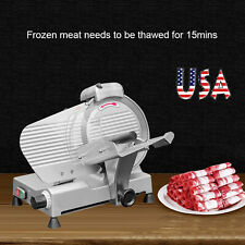 New Listing25cm Blade Semi-Automatic Meat Slicer Meat Cutter Cutting Machine For Restaurant