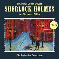 SHERLOCK HOLMES - DIE RACHE DES GERECHTEN (NEWE FÄLLE 28)   CD NEW NIEMANN,ERIC