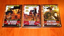 ACERO AZUL / JINETES DEL DESTINO / EL HOMBRE DE UTAH - John Wayne - Precintada