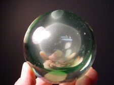 Venini Glass Mid-Century Unusual Shaped Light Green Sommerso Paperweight Eames