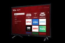 *NEW* STREAMING LED HD Flatscreen Television Roku SMART TV with Remote