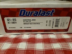 Duralast 521-815 Suspension Control Arm For 95-12 Toyota Hilux Tacoma upper Left
