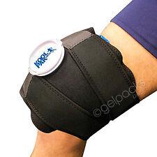 Premium Reusable Ice Wrap Knee Pain Hot Cold Pack Neoprene Velcro Strap Compress