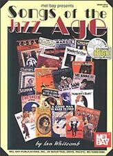 Mel Bay Presents Songs of the Jazz Age with CD (Audio)-ExLibrary