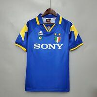 1995-96 Juventus Away Retro Soccer Jersey