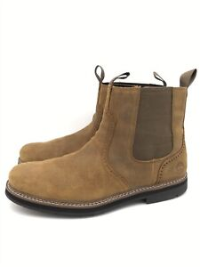 Timberland Men's Squall Canyon Waterproof  Leather Chelsea Boots A297W Size 12 M