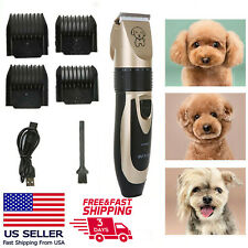 New Electric Dog Shaver Kit Hair Trimmer Dog Grooming Kit Usb for Dogs Cats Pet