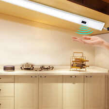 Hand Motion Sensor LED Bar Light Lamp Under Cabinet Cupboard Wardrobe Kitchen