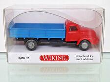 WIKING 042002 - H0 1:87 - Camion BATTAGLIA M. GRU DI CARICO (Magirus S 3500)