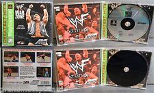 PS1 Wrestling WWF War Zone Complete Sony PlayStation 1 1998 Stone Cold Austin