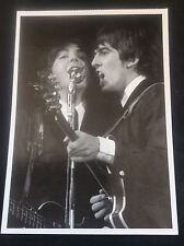 "The Beatles Postcard Large Size Real B/ W Photo 6.5x4.75"" Music Memorabilia 4"