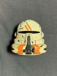 "SIDESHOW 1/6 STAR WARS CLONE TROOPER 212th UTAPAU AIRBORNE HELMET 12"" FIGURE"