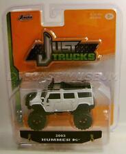 2003 '03 Hummer H2 White Just Trucks Diecast 2016 Jada Wave 12 Rare