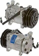 New A/C Compressor Replaces: Sanden 4654 4644 4664 8104 Mack Peterbilt Kenworth