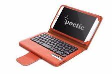 Poetic KeyBook【Bluetooth Keyboard】Case For Samsung Galaxy Tab 3 8.0 Tab Brown