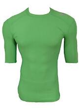 Adidas TechFit Climachill Funktionsshirt Compression Laufshirt hellgrün Gr.XL