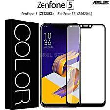 PELLICOLA VETRO TEMPERATO CURVO 3D per Asus Zenfone 5/5Z COPERTURA TOTALE FULL