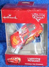 Hallmark Disney Pixar Cars Lightning McQueen Christmas Tree Ornament NIB