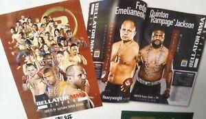 BELLATOR RIZIN.20 MMA program Fedor Emelianenko 12/2019