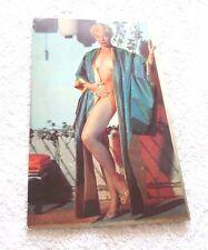 REAL PHOTO CARD SEXY NUDE MISS LILI ST. CYR  EL RANCHO VEGAS  1950'S