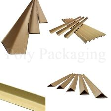More details for cardboard pallet edge protectors *any size/qty* corner guards strips l-shaped