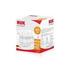 NUK First Choice 150ml Bottle Silicone Teat 4pk - Cream
