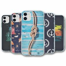 For iPhone 11 Silicone Case Cover Nautical Collection 4
