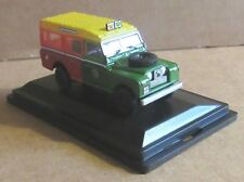OXFORD DIECAST LAND ROVER SERIES II STATION WAGON SHELL/BP 1:76 SCALE MODEL CAR