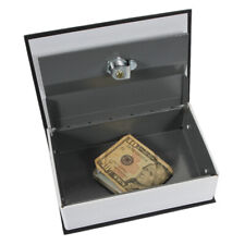New Dictionary Hidden Secret Book Safety Money Box Security with Key Lock Black