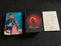1992 PRO SET DISNEY BEAUTY AND THE BEAST COMPLETE (90) CARD SET COLOR-IN