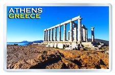 POSEIDON TEMPLE ATHENS GREECE MOD3 FRIDGE MAGNET SOUVENIR IMAN NEVERA