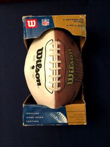 Wilson NFL SuperBowl XXXV Football Autograph Model Full Size Ravens vs. Giants