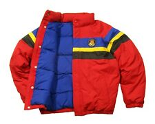 Polo Ralph Lauren Men's Red Striped Down Puffer Jacket $328