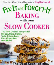 New Fix It and Forget It Baking with Your Slow Cooker 150 Baking Recipes PB Book