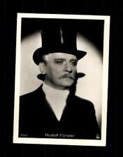Rudolf Forster  Haus Bergmann Film Photos Zigarettenbild  ## BC 129070